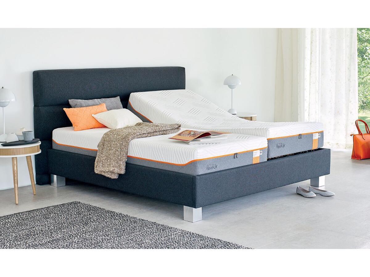 matelas tempur visco latique ferme 25 cm esmans. Black Bedroom Furniture Sets. Home Design Ideas